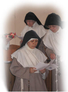 Solemn Profession of Vows by a Cloistered Nun