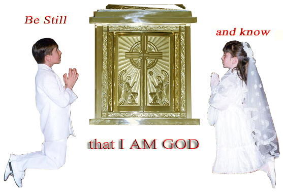 Adoring Christ in the Most Blessed Sacrament of the Altar
