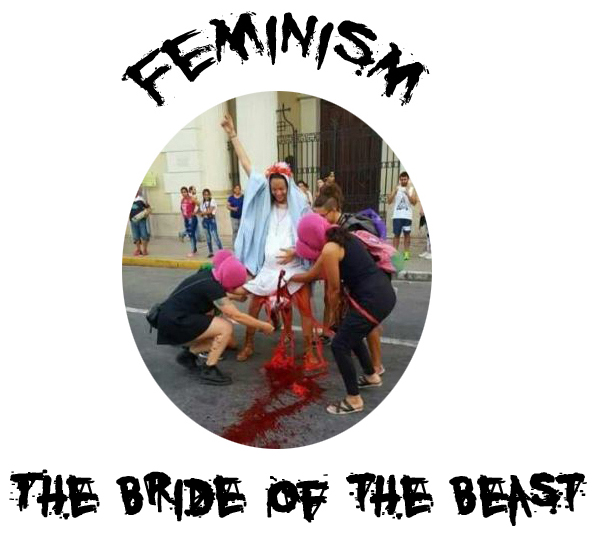 Feminism: the Bride of the Beast, the devil