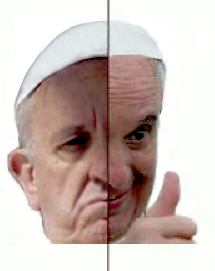 The Two Faces of Pope Francis