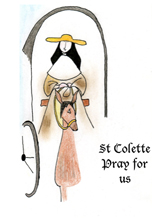 Saint Colette on Horse-drawn Carriage