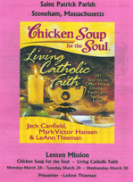 Chicken Soup for the Soul - St Patrick of Stoneham, MA, and the  trivialization of the Holy Season of Len