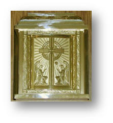 The Tabernacle: Jesus in the Most Blessed Sacrament of the Altar